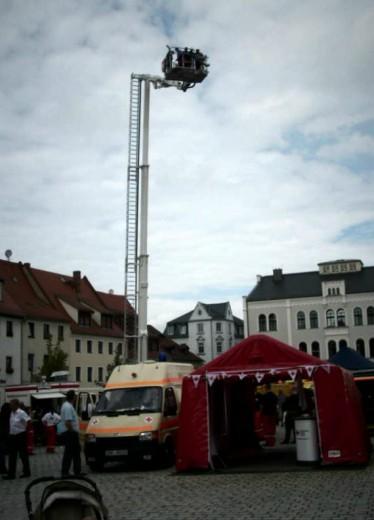 Hubsteiger der Feuerwehr