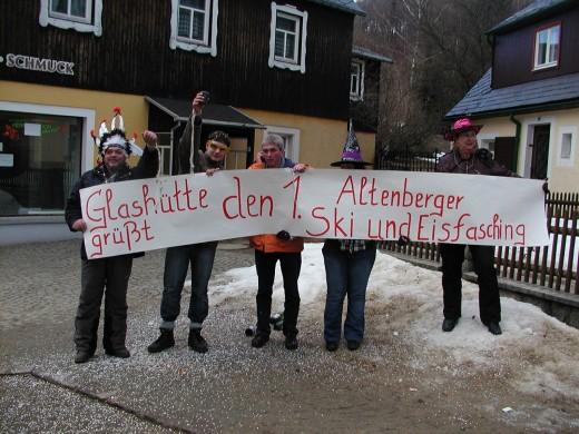 1. Altenberger Ski- und Eisfasching