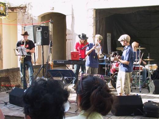 Beim 3. Herrengassenfest 2009