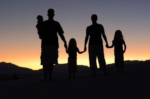 Family Portrait by Eric Ward (Creative Commons-Lizenz Namensnennung-Weitergabe unter gleichen Bedingungen)