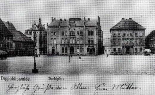 Reichelsches Haus auf dem Markt (heute Polizei)