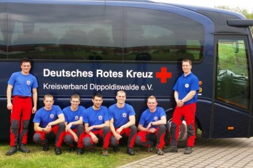 Bergwacht Altenberg - Sieger Sanitätsgruppen