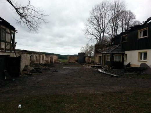 Raub der Flammen in Ammeldorf