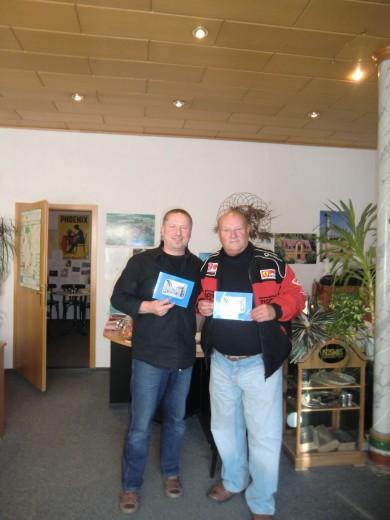 Foto: Steffen Steger (Herausgeber) Guntram König (Autor) präsentieren das neue Dipps-Buch