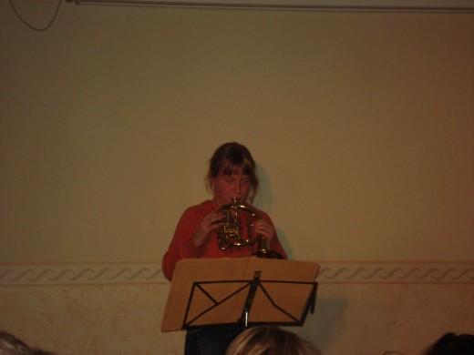 ... aber auch wunderbare Instrumentensoli...