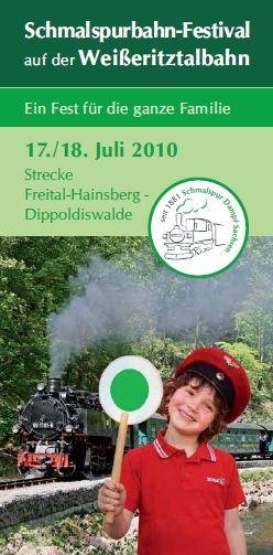Deckblatt Weißeritztalbahn