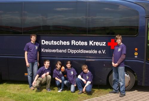 Siegermannschaft JRK Stufe II – Dippoldiswalde 2