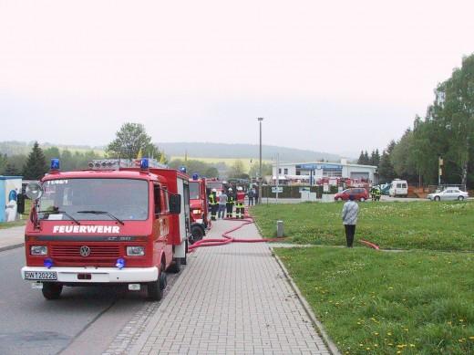 Feuerwehreinsatz am 11.5.2010