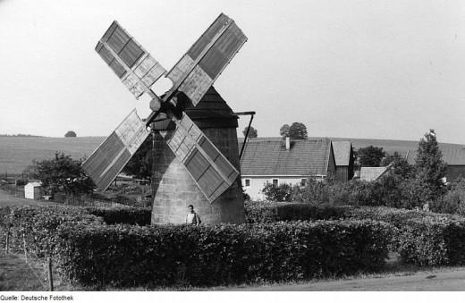 Holländermühle in Reichstädt
