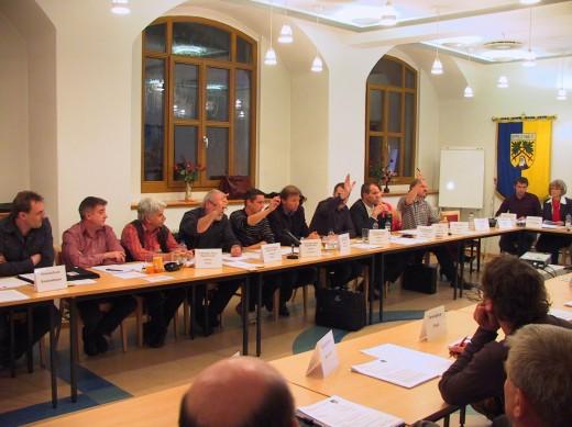 Stadtratsitzung am 10.11.2010 -