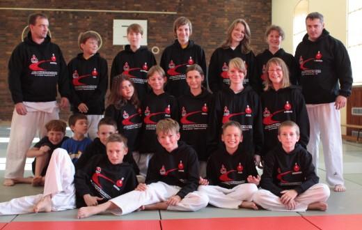 Judokas sagen Danke