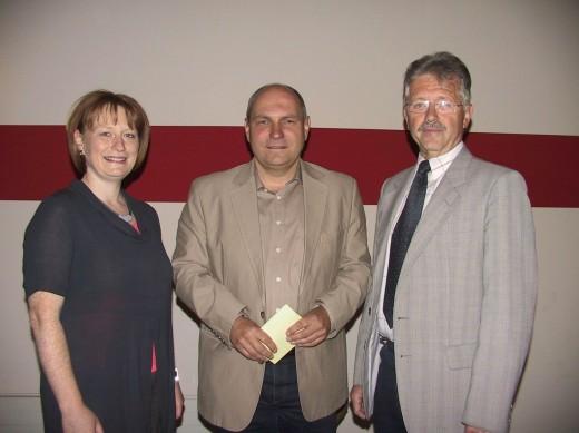 Kerstin Körner, Ulrich Hammerschmidt und Ralf Kerndt (von links nach rechts)