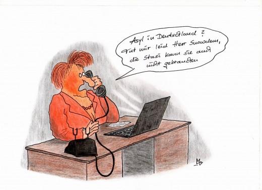 Kl(T)ickst du noch richtig [Karikatur: Mirko Mitzschke für Dreutschen Karikaturenpreis 2013]