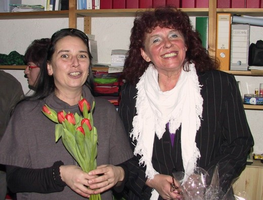 Verena Maiwald und Edith Post