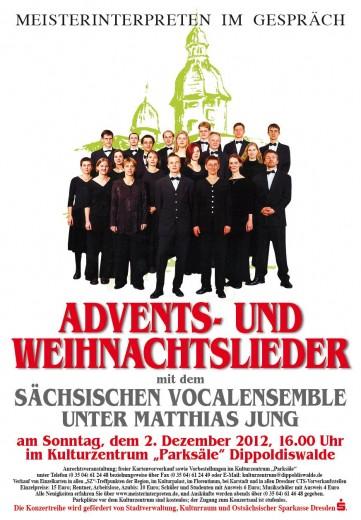 Plakat für den 02.12.2012