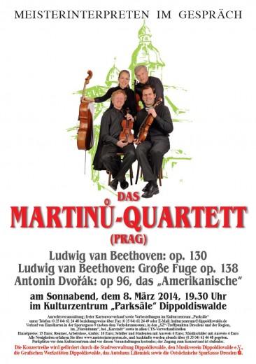 Meisterinterpreten im Gespräch (Plakat für den 08.03.2014)