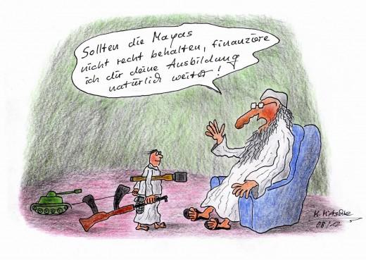 Ausbildungsfinanzierung (Karikatur: Mirko-Mitschke, Lizenz: CC BY-NC-ND 3.0)