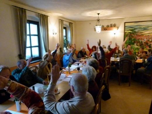 Nominierungs-Versammlung Die Linke 2014