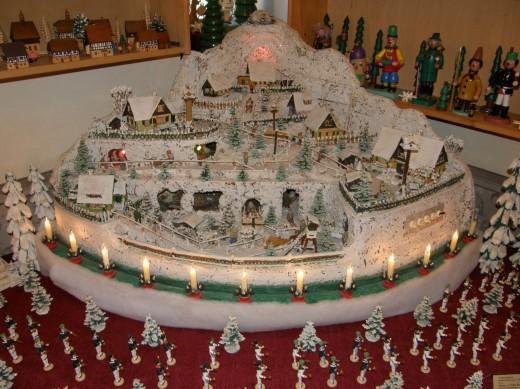 Weihnachtsberg von Herbert Ranft