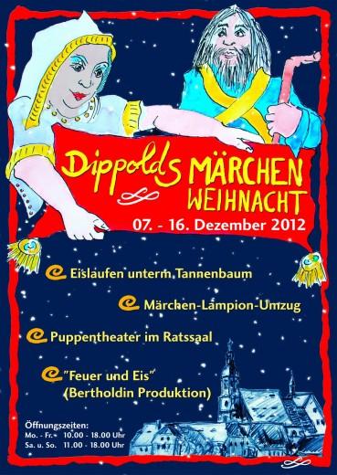 Plakat Weihnachtsmarkt 2012
