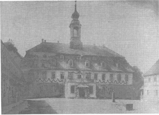 Schloss Berreuth um 1900