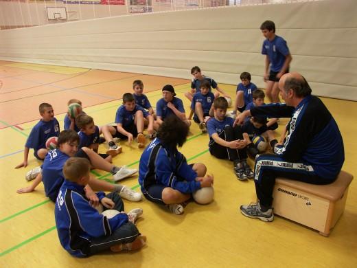VSG-Training mit Herrn Widra (Foto: Uwe Göhlert)