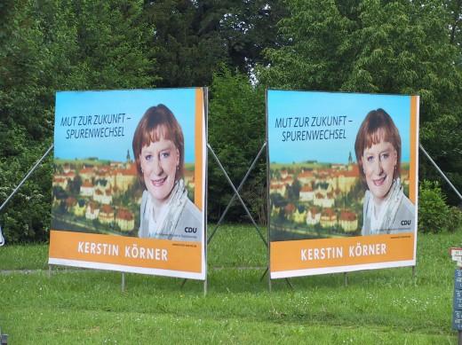 Wahlwerbung Kerstin Körner