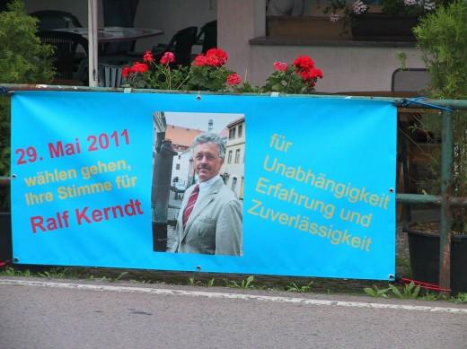 Wahlwerbung Ralf Kerndt
