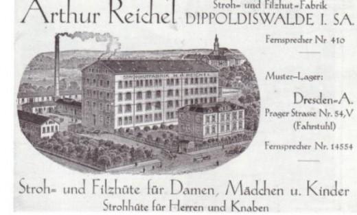 Stroh- und Filzhutfabrik Arthur Reichel