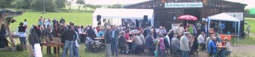 Dieses Foto von Harald Weber entstand am 19. Juni 2010 beim Siedlungsfest auf der Ochsenwiese