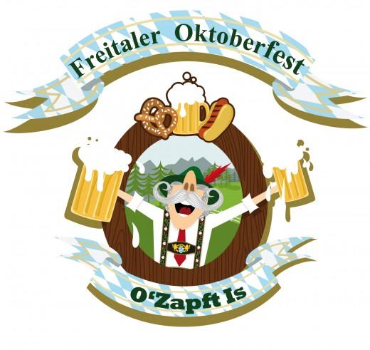 Logo Freitaler Oktoberfest