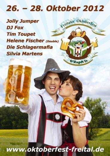 Plakat Oktoberfest 2012 Freital