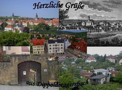 Ansichtskarte aus Dippoldseggersbach