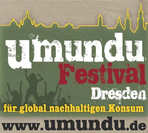 """Das Umundu-Festival in Dresden möchte das Thema """"Nachhaltiger Konsum"""" auf kreative Art und Weise in den Alltag der DresdnerInnen holen. In einer bunten Mischung aus Kultur- und Informationsprogramm wird die Rolle des alltäglichen Konsums und seiner globalen Auswirkung der Öffentlichkeit näher gebracht."""